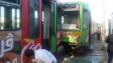 خلّف 15 مصابًا: خطأ بشري وراء حادث اصطدام المترو رقم 5