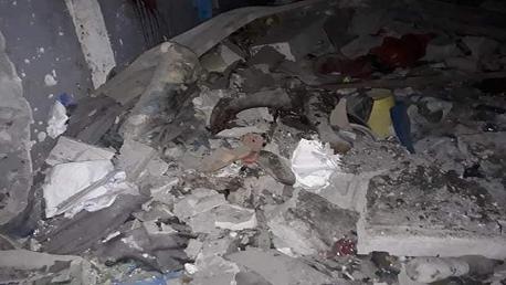 قصف جوي على مركز للمهاجرين بليبيا