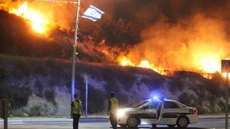 حرائق اسرائيل
