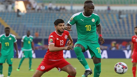 المنتخب التونسي والسينغالي