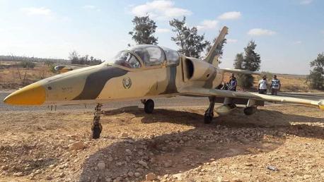 طائرة عسكرية ليبية