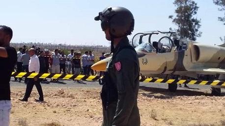 هبوط طائرة حربية ليبية بمدنين: وزارة الدفاع تُوضّح