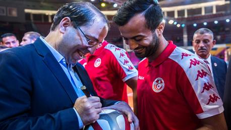 الشاهد  والمنتخب التونسي