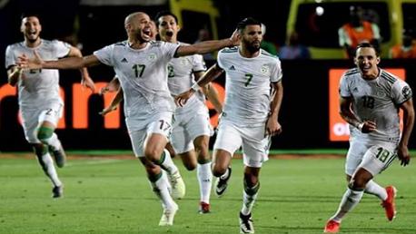 المنتخب الجزائري