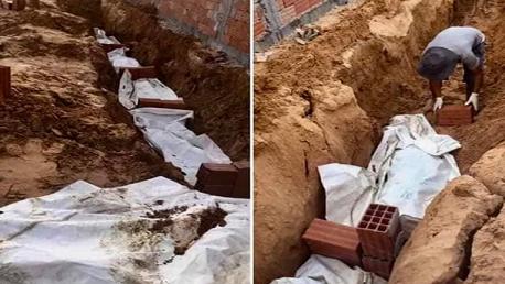 هيئة حقوق الإنسان تُعلّق على طريقة دفن جثث الضحايا من المهاجرين