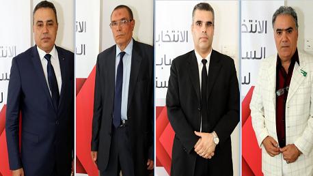 منصف الوحيشي و محمد الشاذلي الفقيه أحمد و محمد الهادي منصوري و المهدي جمعة
