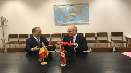 """""""اتفاق تحويل جزء من الديون التونسية لدى بلجيكيا إلى مشاريع تنموية"""""""