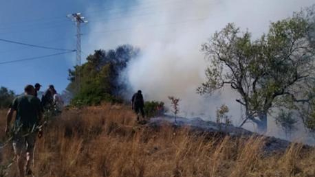 مصالح الحرس الوطني ببنزرت تتعهد بالتحقيق في قضية حريق جبل الناظور
