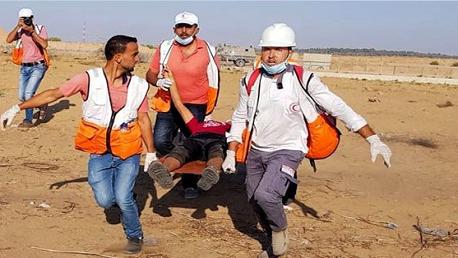 قطاع غزة: شهيدان وعشرات الاصابات خلال قمع الاحتلال لمسيرات العودة