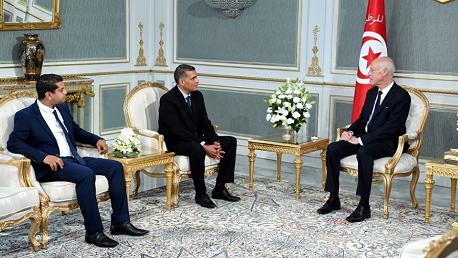 رئيس الجمهورية يلتقي أمين عام تيّار المحبّة والناطق الرسمي باسمه