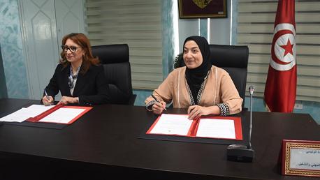 إمضاء اتفاقية بين وزارة التكوين المهني والتشغيل وبلدية تونس