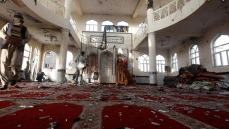 62 قتيلاً في استهداف مسجد شرقي أفغانستان