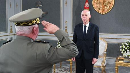 رئيس الجمهورية يلتقي مدير وكالة الاستخبارات والأمن للدفاع