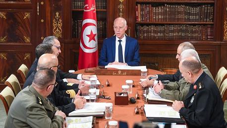 قيس سعيّد يُشرف على اجتماع المجلس الأعلى للجيوش