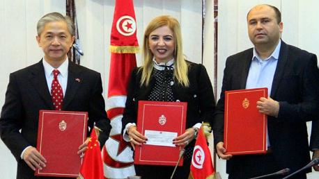 إبرام اتفاقية مشتركة بين وزارة شؤون الشباب والرياضة وسفارة الصين بتونس