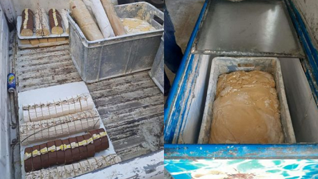 جبل الجلود: ضبط مصنع عشوائي معد لصنع المرطبات غير صالحة للاستهلاك