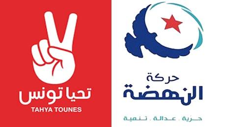 النهضة و تحيا تونس