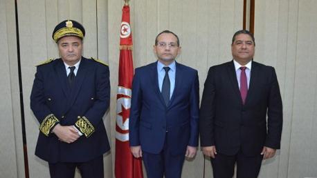 وزير الداخلية يُشرف على حفل تنصيب والي الكاف
