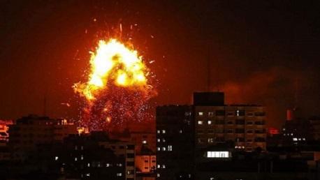 العدوان الصهيوني على غزة: 7 شهداء وأكثر من 45 جريحا