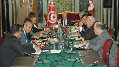 رئيس مجلس نواب الشعب يشرف على اجتماع رؤساء الكتل