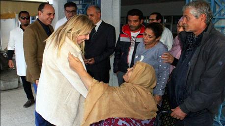 وزيرة الصحة بالنيابة تزور مستشفى الرابطة