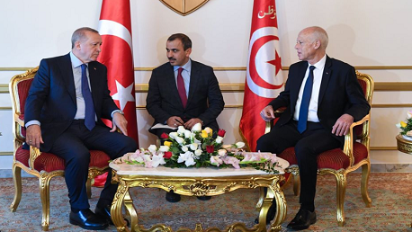 أردوغان و قيس سعيد