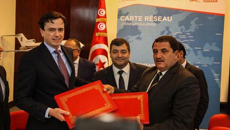 الخطوط التونسية تتسلم 5 طائرات جديدة بداية من سنة 2021