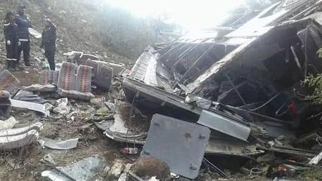 ارتفاع عدد ضحايا حادث منطقة السنوسي إلى 26 شخصا