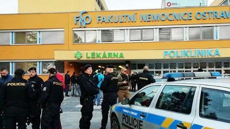 4 قتلى وجريحان في إطلاق نار بمستشفى في تشيكيا