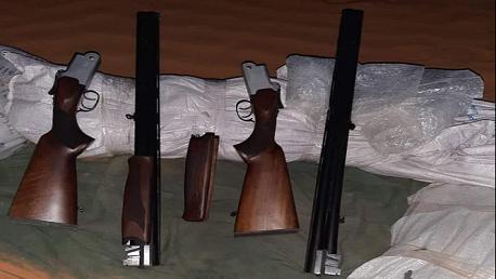 مصالح الحرس الديواني بتطاوين تحبط محاولة تهريب 19 بندقية صيد
