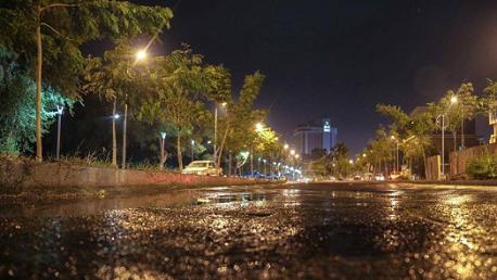 أمطار الليلة