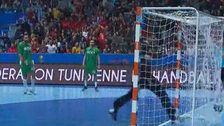 مباراة كرة اليد تونس الجزائر