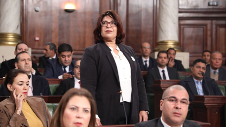 النائبة عواطف قريش تُؤدي اليمين الدستورية