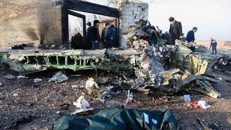الكشف عن جنسية أغلبية ركاب الطائرة الأوكرانية المنكوبة في إيران