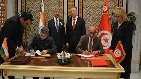 توقيع مذكرة تفاهم بين تونس و الهند لإحداث مركز مشترك للإبداع في مجال تكنولوجيا المعلومات
