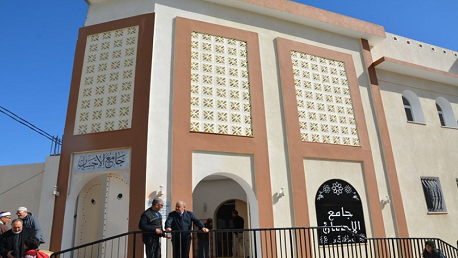 بنزرت: وزير الشؤون الدينية يفتتح جامع الإحسان بعين مريم