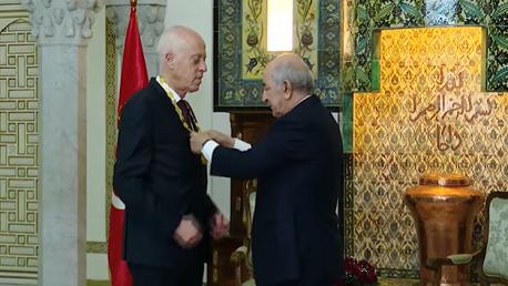 توسيم رئيس الجمهورية برتبة أثير من صنف الاستحقاق الوطني الجزائري
