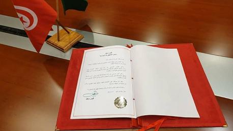 تسليم وثائق تصديق الجمهورية التونسية على اتفاقية الاتحاد الإفريقي لمنع الفساد