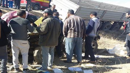 وفاة 5 مدرّسات في حادث مرور أليم بالقصرين