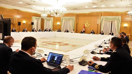 الإجتماع الدوري للهيئة الوطنية لمجابهة الكورونا