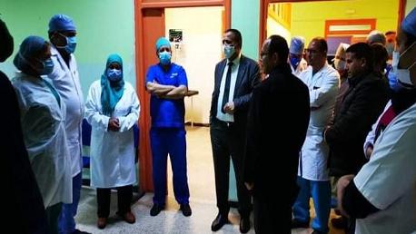 وزير الصحة يؤدي زيارة غير معلنة إلى المستشفى الجهوي بالكاف