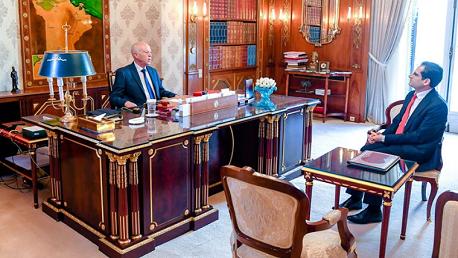 وزير الخارجية و رئيس الجمهورية