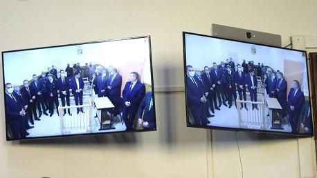 وزيرة العدل تشرف على إطلاق تجربة محاكمة عن بعد بين المحكمة الابتدائية بتونس والسجن المدني بالمرناقية