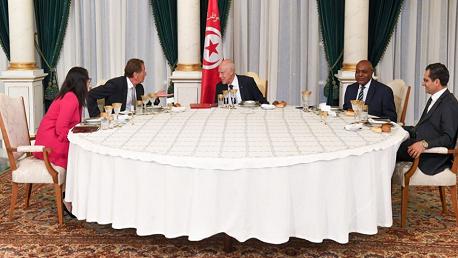 مأدبة إفطار على شرف سفراء الدول العربية و الإسلامية بتونس