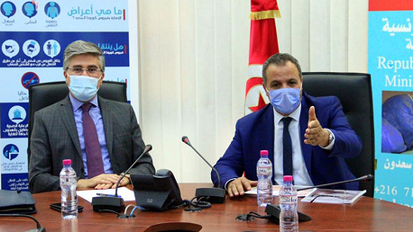 جلسة عمل حول دليل الإجراءات الصحية في القطاع السياحي
