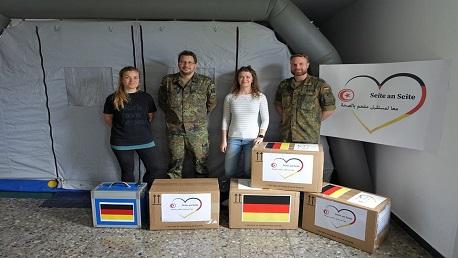 معدات تشخيص مخبرية من ألمانيا لفائدة معهد باستور والمستشفى العسكري