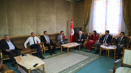 رئيس مجلس نواب الشعب يُواصل لقاءاته مع رؤساء الكتل