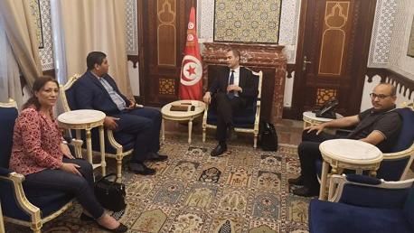 عبد اللطيف علوي ووزير المالية