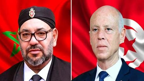 سعيّد وملك المغرب