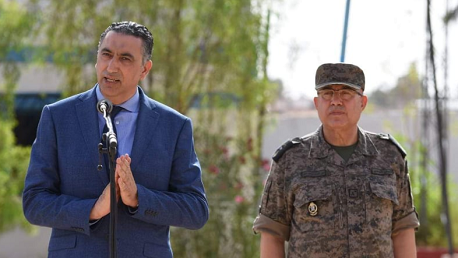 وزير الدفاع الوطني في زيارة ميدانيّة للوحدات العسكريّة بالبرمة ورمادة